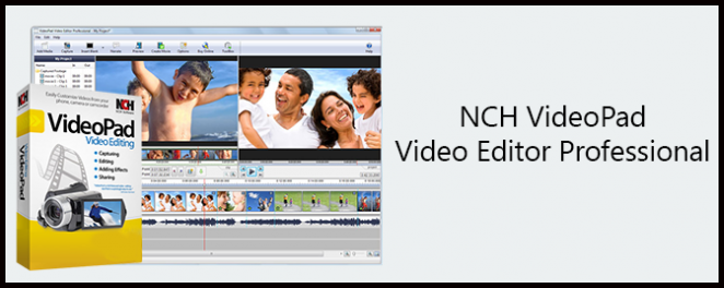 VideoPad Video Editor 456 Serial + Crack Final