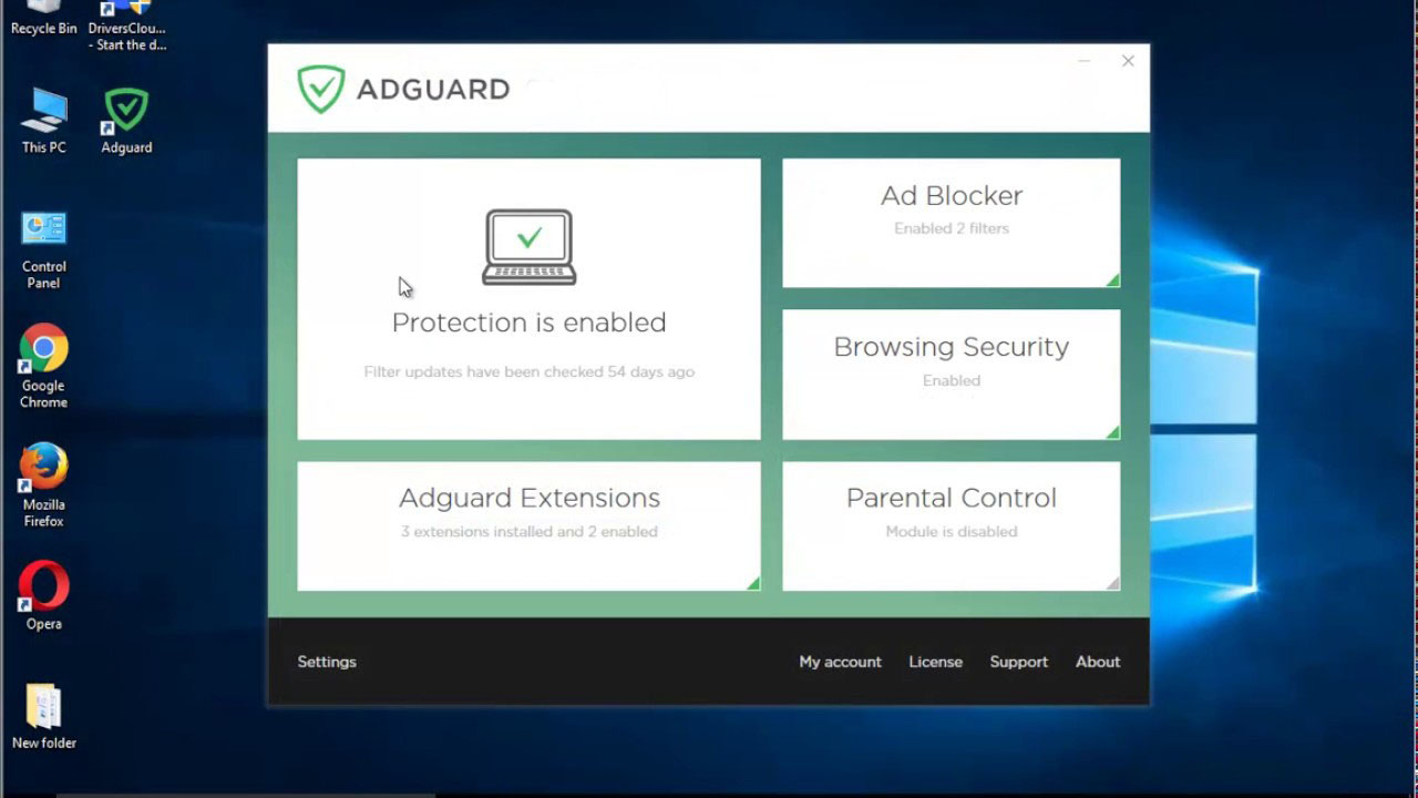 Adguard Windows