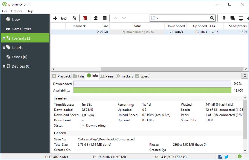 uTorrent free